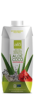 ALO Aloe Coco Coconut Water and Watermelon Juice